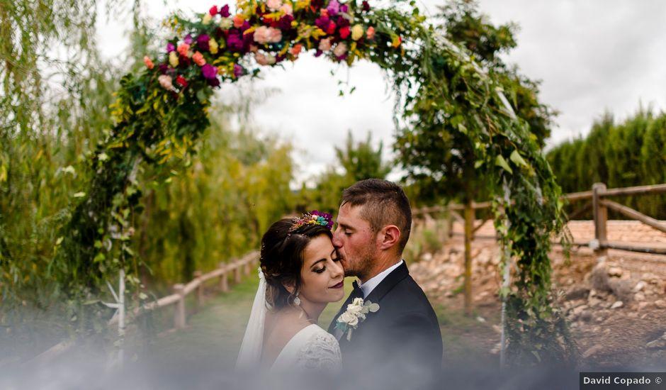 La boda de Miriam y Cristo en Malagon, Ciudad Real