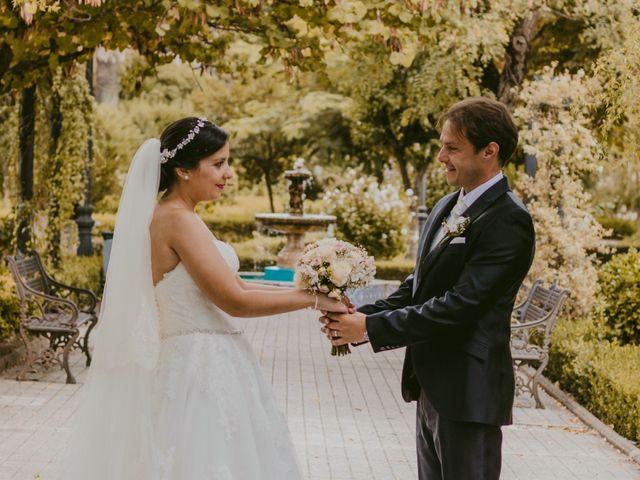 La boda de Manety y Nuria en Logrosan, Cáceres 18