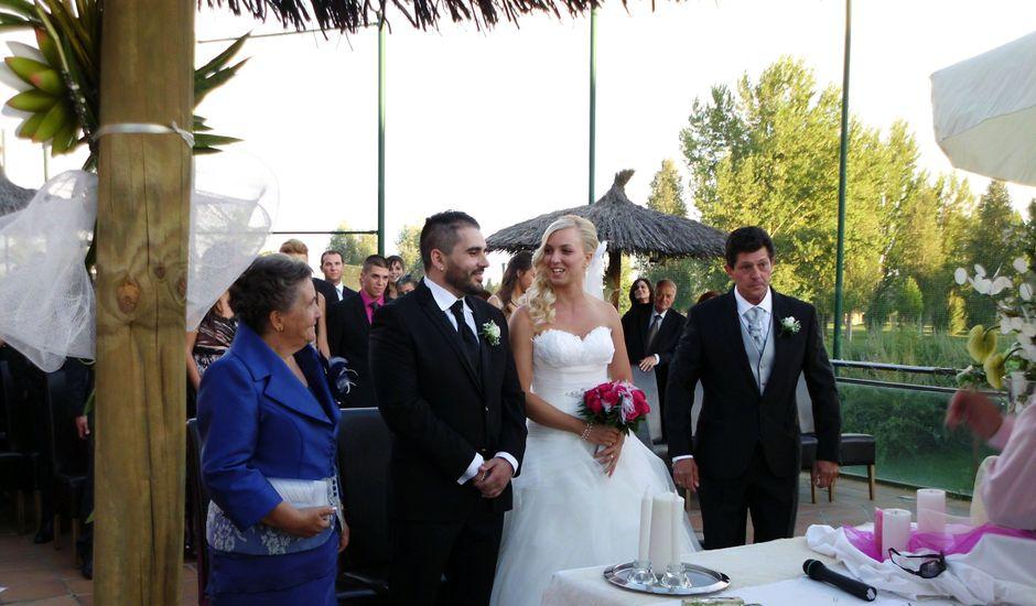 La boda de Victoria y David en Grijota, Palencia