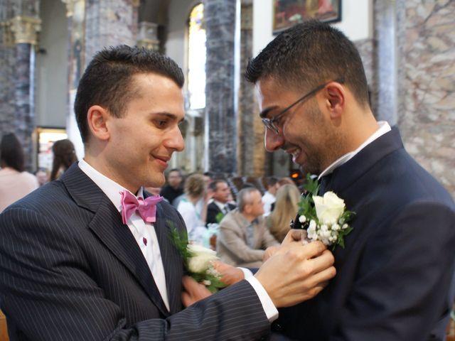 La boda de Fabio (Milan, Itália) y Leila en Villamayor De Santiago, Cuenca 20