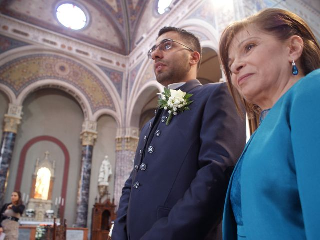 La boda de Fabio (Milan, Itália) y Leila en Villamayor De Santiago, Cuenca 21