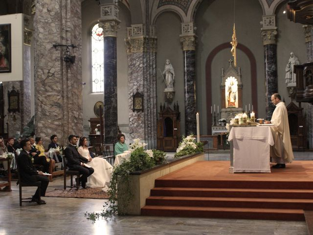 La boda de Fabio (Milan, Itália) y Leila en Villamayor De Santiago, Cuenca 24