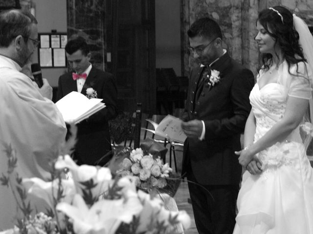 La boda de Fabio (Milan, Itália) y Leila en Villamayor De Santiago, Cuenca 25