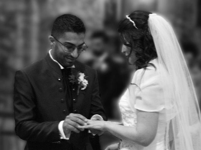 La boda de Fabio (Milan, Itália) y Leila en Villamayor De Santiago, Cuenca 28