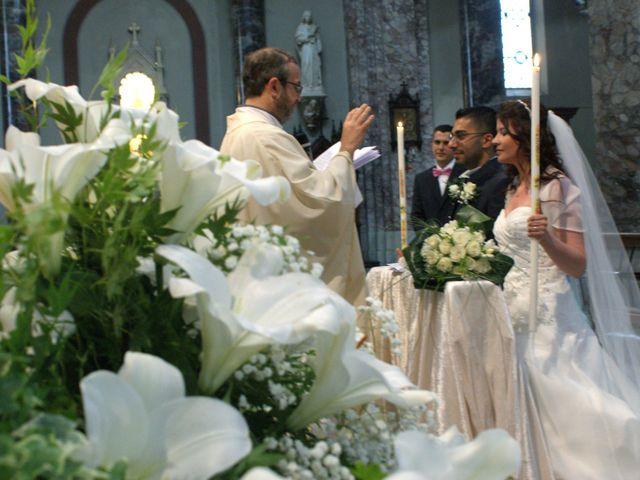 La boda de Fabio (Milan, Itália) y Leila en Villamayor De Santiago, Cuenca 30