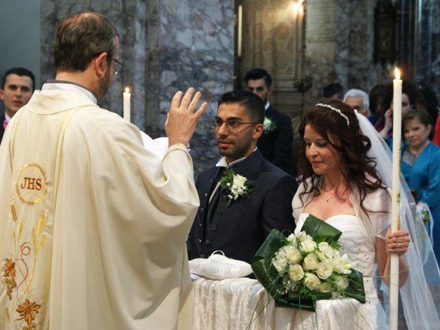 La boda de Fabio (Milan, Itália) y Leila en Villamayor De Santiago, Cuenca 31