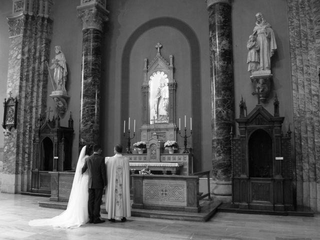 La boda de Fabio (Milan, Itália) y Leila en Villamayor De Santiago, Cuenca 40