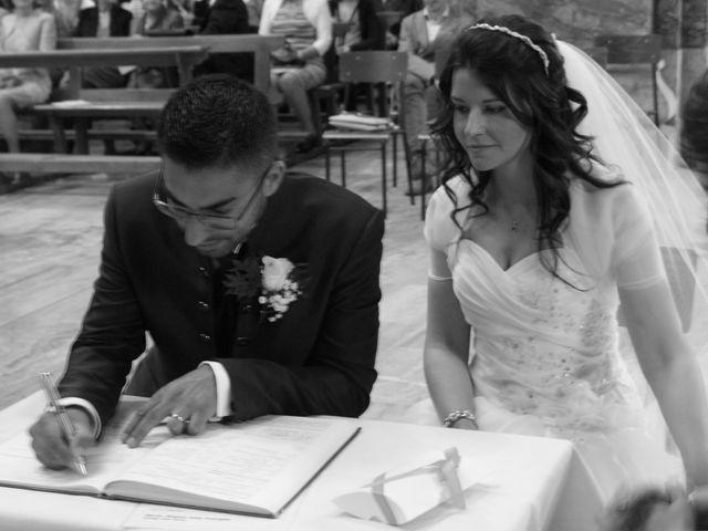 La boda de Fabio (Milan, Itália) y Leila en Villamayor De Santiago, Cuenca 42