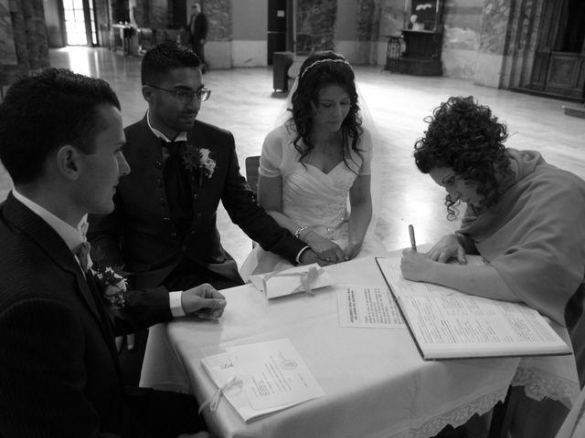 La boda de Fabio (Milan, Itália) y Leila en Villamayor De Santiago, Cuenca 43