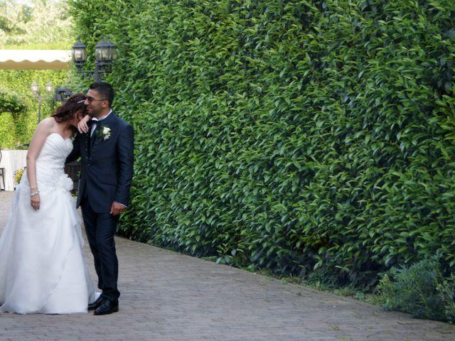 La boda de Fabio (Milan, Itália) y Leila en Villamayor De Santiago, Cuenca 58