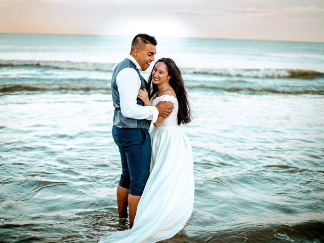 La boda de Alex y Tania en Albal, Valencia 1