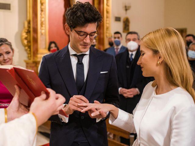 La boda de Javier y María en Aranjuez, Madrid 2