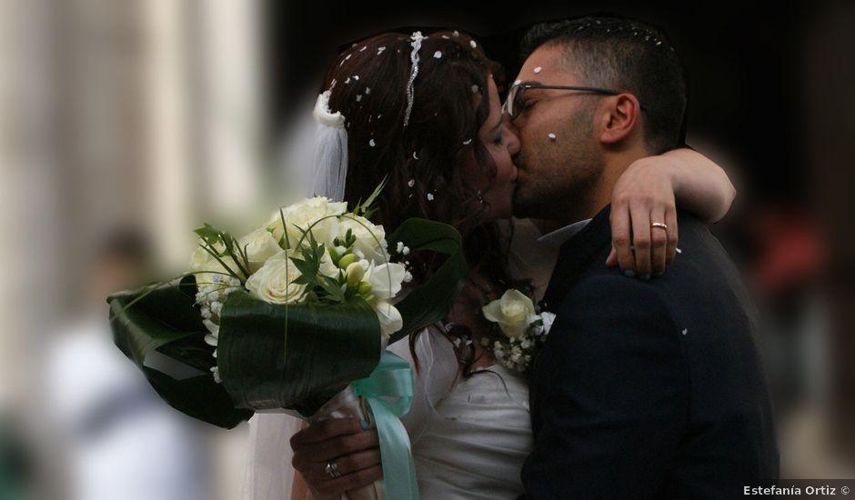 La boda de Fabio (Milan, Itália) y Leila en Villamayor De Santiago, Cuenca