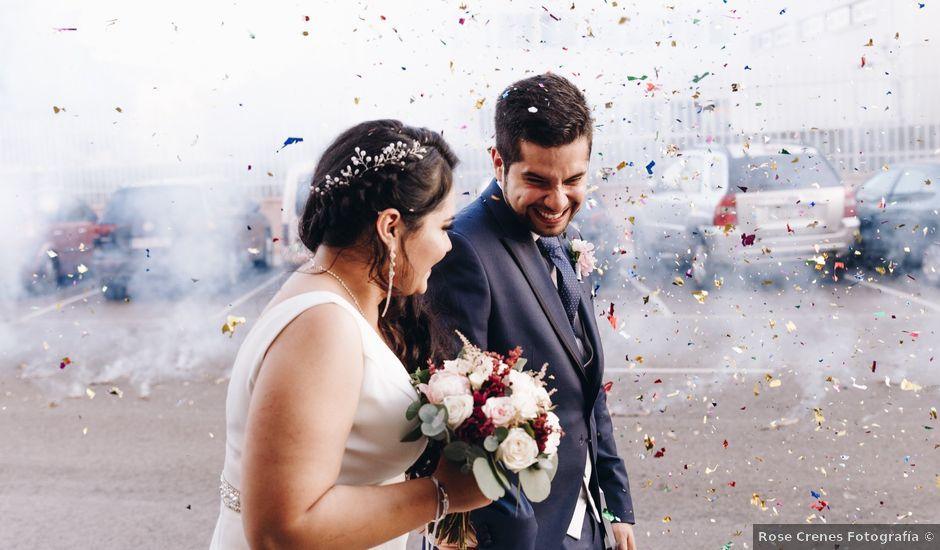 La boda de Josué y Saray en Alboraya, Valencia
