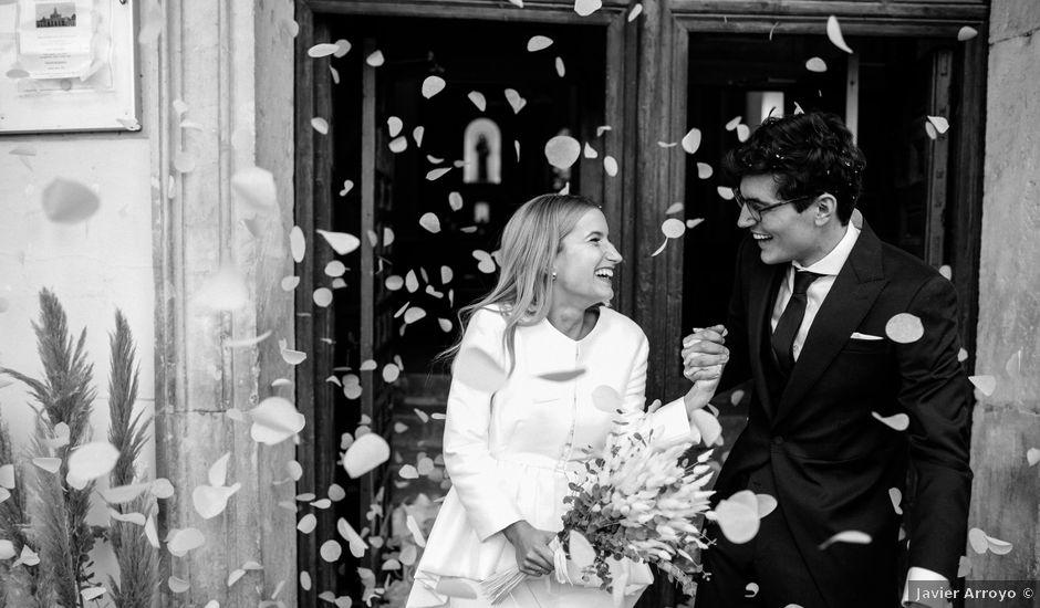 La boda de Javier y María en Aranjuez, Madrid