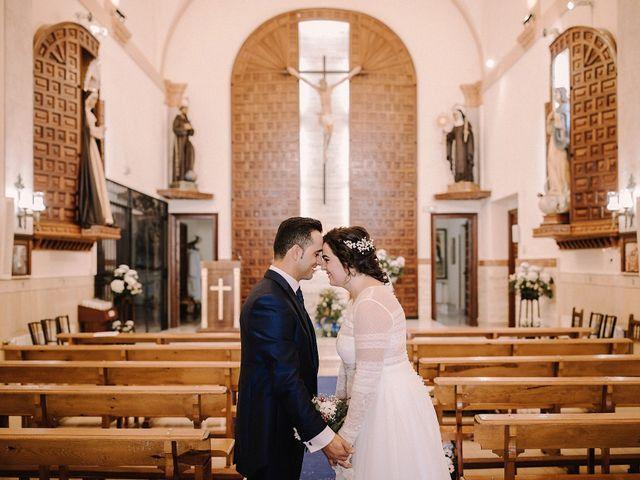 La boda de Domi y Ana en Villarrubia De Los Ojos, Ciudad Real 26