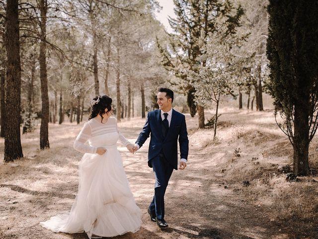 La boda de Domi y Ana en Villarrubia De Los Ojos, Ciudad Real 32