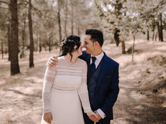 La boda de Domi y Ana en Villarrubia De Los Ojos, Ciudad Real 33