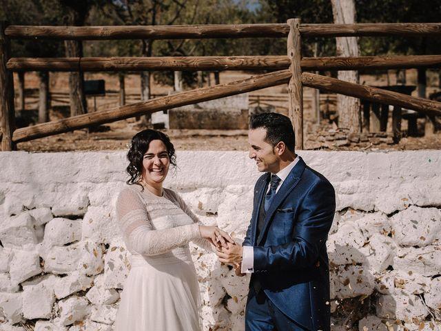 La boda de Domi y Ana en Villarrubia De Los Ojos, Ciudad Real 34