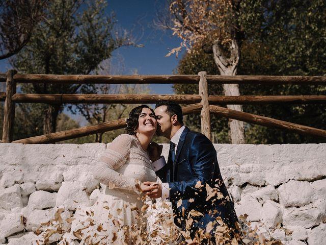 La boda de Domi y Ana en Villarrubia De Los Ojos, Ciudad Real 35
