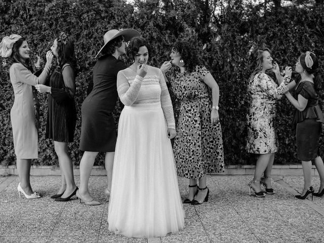 La boda de Domi y Ana en Villarrubia De Los Ojos, Ciudad Real 41