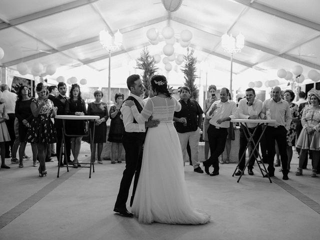 La boda de Domi y Ana en Villarrubia De Los Ojos, Ciudad Real 45