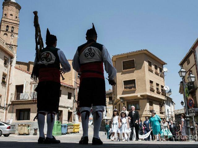 La boda de Pablo y Goretti en Funes, Navarra 1