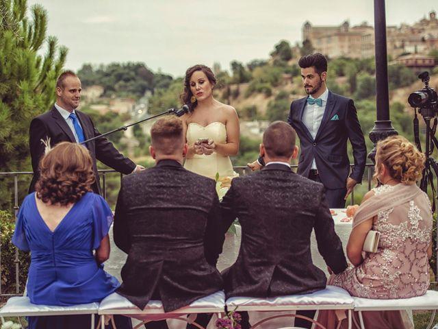 La boda de Dani y Edu en Toledo, Toledo 37
