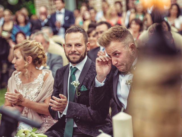 La boda de Dani y Edu en Toledo, Toledo 39
