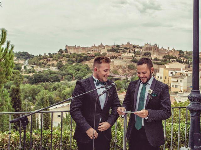 La boda de Dani y Edu en Toledo, Toledo 41