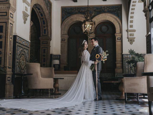 La boda de Raquel y Marcos en Sevilla, Sevilla 77