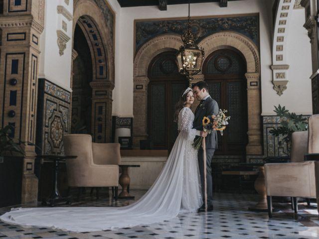 La boda de Raquel y Marcos en Sevilla, Sevilla 79
