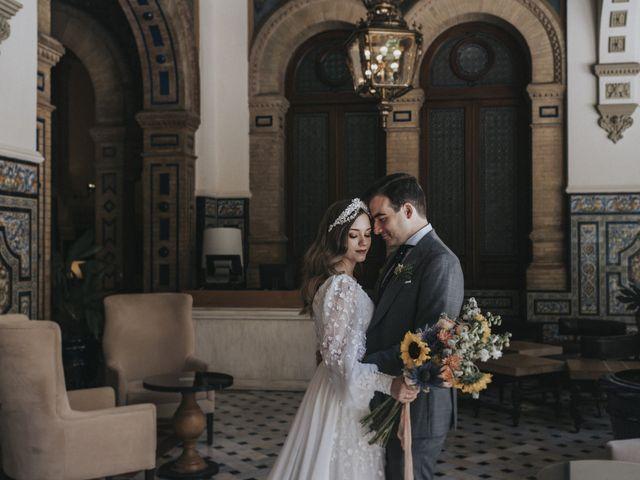 La boda de Raquel y Marcos en Sevilla, Sevilla 80