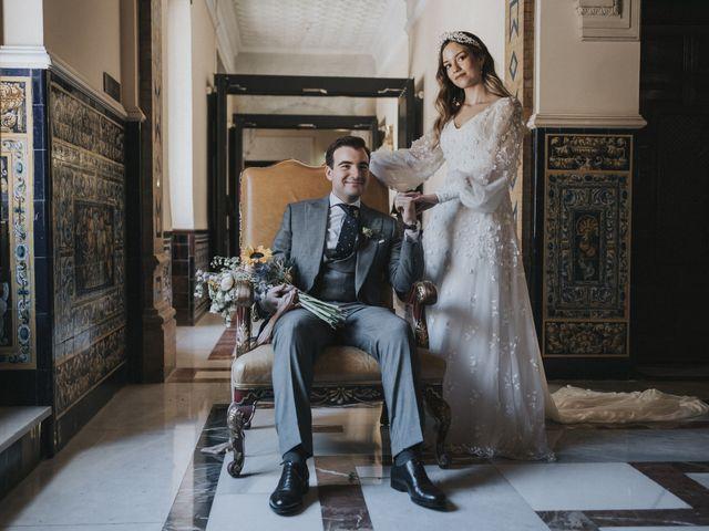 La boda de Raquel y Marcos en Sevilla, Sevilla 91