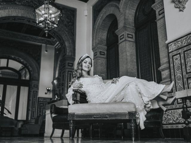 La boda de Raquel y Marcos en Sevilla, Sevilla 125