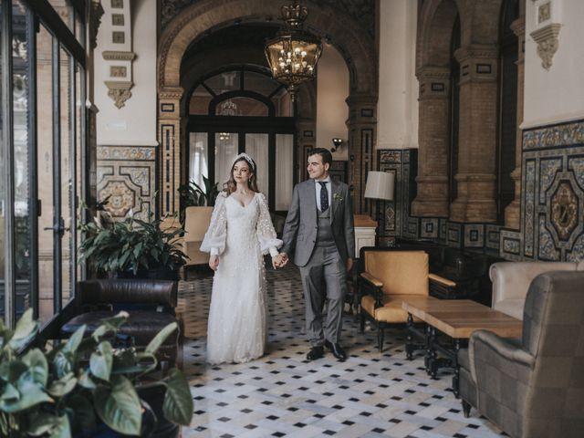 La boda de Raquel y Marcos en Sevilla, Sevilla 131