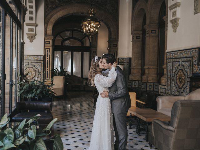 La boda de Raquel y Marcos en Sevilla, Sevilla 132