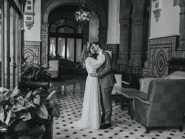 La boda de Raquel y Marcos en Sevilla, Sevilla 133