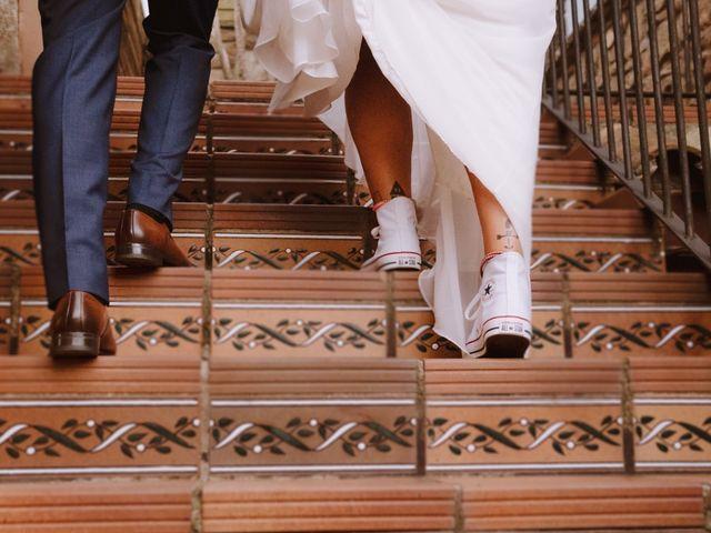 La boda de Fran y Elena en Rubi, Barcelona 1