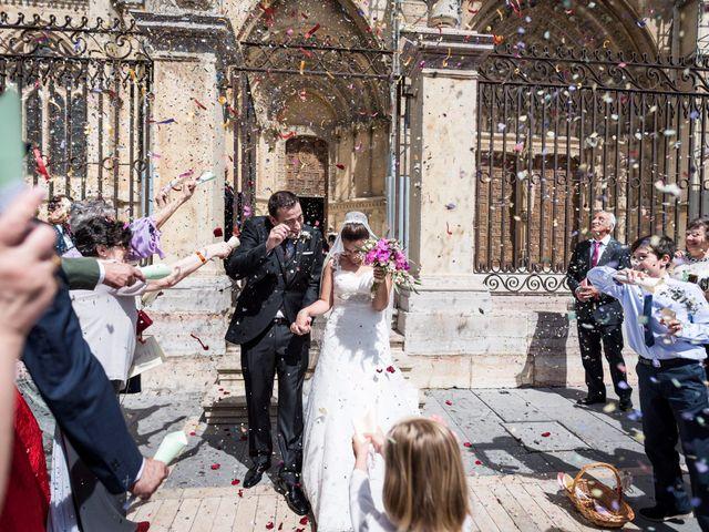 La boda de Ángel y Lourdes en Cembranos, León 1