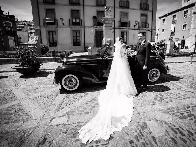 La boda de Ángel y Lourdes en Cembranos, León 31