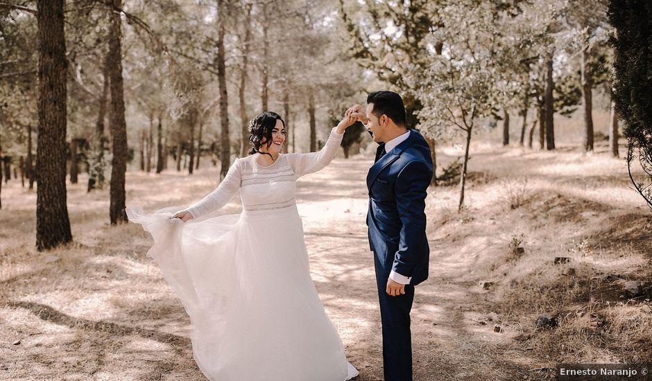 La boda de Domi y Ana en Villarrubia De Los Ojos, Ciudad Real