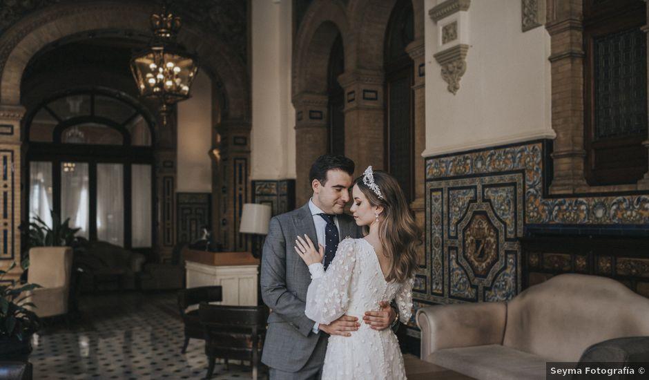 La boda de Raquel y Marcos en Sevilla, Sevilla