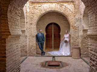 La boda de Ezequiel y Cristina