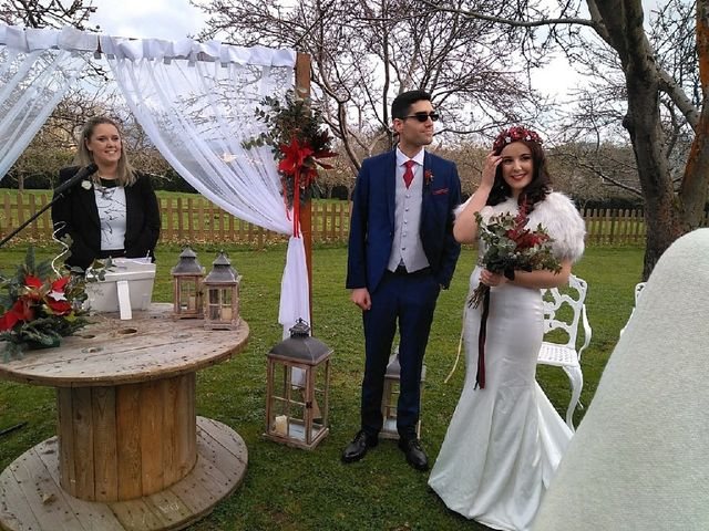 La boda de Rocío  y Jonás
