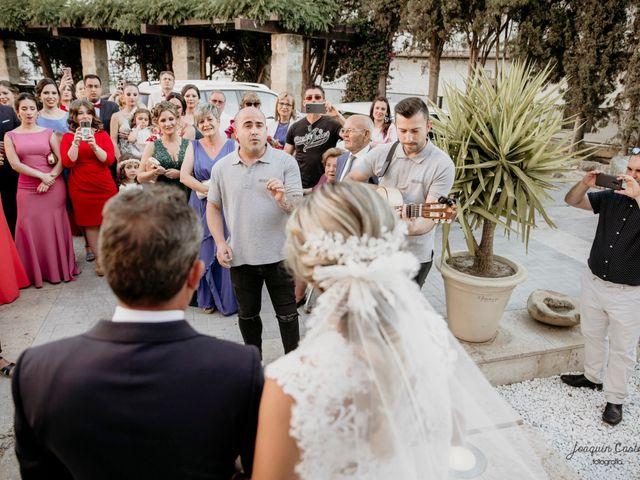 La boda de Óscar y María del Mar en Mengibar, Jaén 31