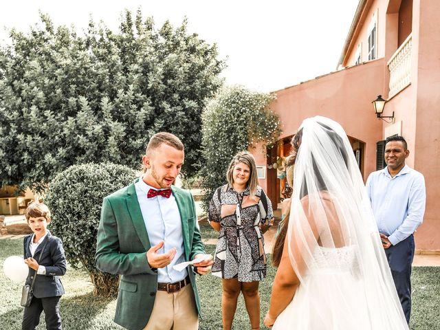 La boda de Dennys y Amanda en Lluchmajor, Islas Baleares 3