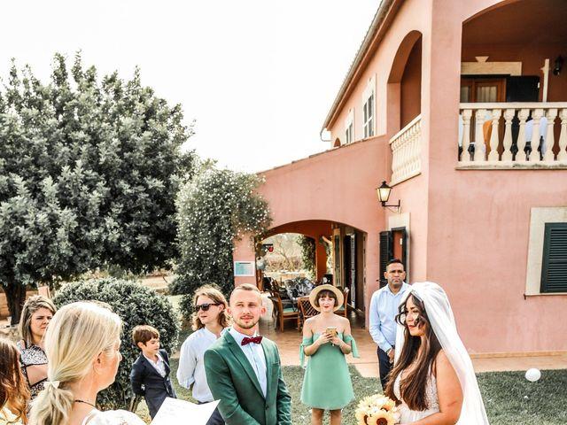 La boda de Dennys y Amanda en Lluchmajor, Islas Baleares 5