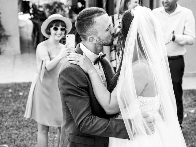 La boda de Dennys y Amanda en Lluchmajor, Islas Baleares 1