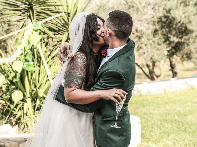 La boda de Dennys y Amanda en Lluchmajor, Islas Baleares 10